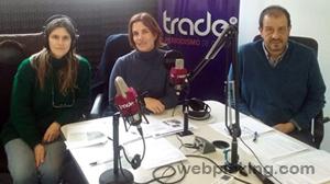 Cecilia Bibiloni, Dafne Anghelidis y Rodolfo Fiadone