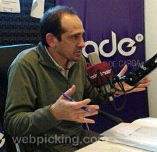 Gonzalo Besuschio, responsable de Logística de la Red Argentina de Bancos de Alimentos